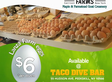 Lanza Farm Eggs Flyer