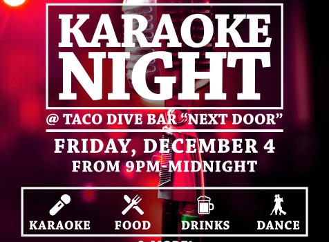 karaoke dec 4