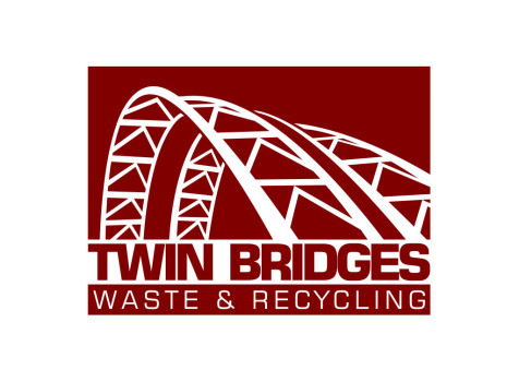 Twin Bridges Waste & Recycling Logo
