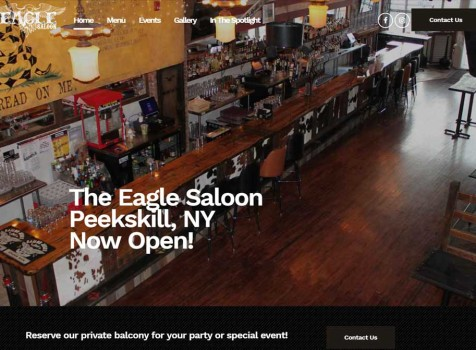 Eagle Saloon Website